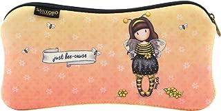 Santoro Gorjuss Neoprene Zipped Accessory Case 271GJ29 - Bee Loved Just Bee-Cause