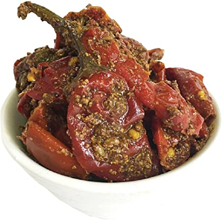 Marudhar Athana Mirchi Red (Long Red Chilli Pickle) - 400g (Set of Two 200g)