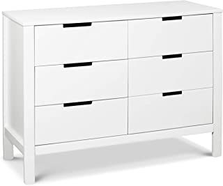 Carter's by Davinci Colby 6-Drawer Dresser in White