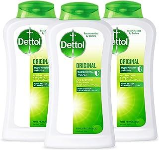 Dettol Original Anti-Bacterial Body Wash 250ml 2+1