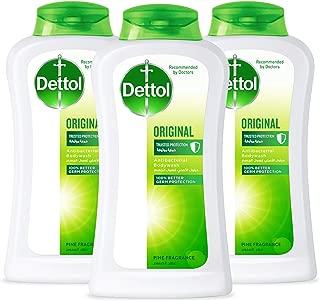 Dettol Original Anti-Bacterial Body Wash 250ml (Pack of 3)