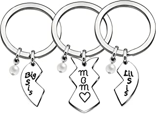 Mother Mom Stepmother Gift Apprecation Keychain for Mom Mother Bonus Mom from Daughter Son Stepdaughter
