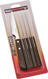 Tramontina Juego de cuchillos, color negro, juego de 4, acero inoxidable, Light Black, 30 x 30 x 30 cm