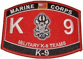 marine corps k9 mos
