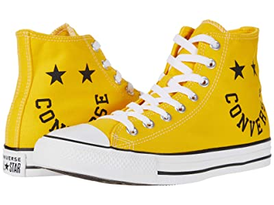 Converse Chuck Taylor All Star Smile Hi (Amarillo/Black/White) Athletic Shoes
