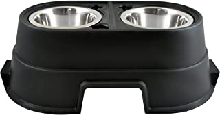 OurPets Comfort Diner Elevated Dog Food Dish (Raised Dog Bowls Available in 4 inches, 8 inches and 12 inches for Large Dogs, Medium Dogs and Small Dogs)