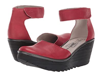 FLY LONDON Yand709Fly (Red Brito) Women