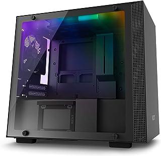 NZXT H200i - Caja PC Gaming Mini-ITX - Panel de vidrio templado - Preparado para refrigeración líquida - Negro - Versión 2018