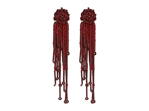 Kate Spade New York Glitzville Beaded Tassel Earrings
