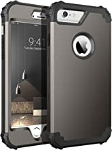 iPhone 6S Plus Case, iPhone 6 Plus Case, BENTOBEN Heavy Duty Rugged Shockproof 3 in 1 Hybrid Hard PC Soft Silicone Bumper ...