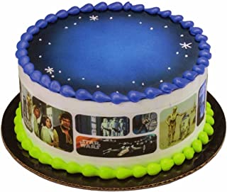 Star Wars Galaxy Designer Cake Side Strips