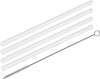 les boucles de trail larges couleur noir Fackelmann 54656 Rio Party Biokunststoff /Ø 8 mm pailles durables Id/éal pour les boissons /épaisses Quantit/é : 135 pi/èces les pailles en grande taille