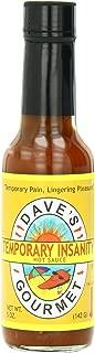 Dave's Gourmet Hot Sauce, Temporary Insanity, 5 Ounce