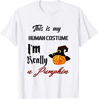 This Is My Human Being Anatomy, Pumpkin Funny attire Gift T-Shirt
