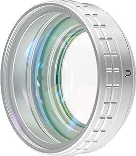 Ulanzi WL-1 ZV-1広角レンズ 超広角レンズ+マクロレンズ 52mmレンズ接写リングもレンズカバー付き 白