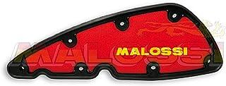MALOSSI Luftfiltereinsatz Double Red Sponge, für Piaggio 350 Beverly Sport Touring i.e./X10 rot/schwarz,