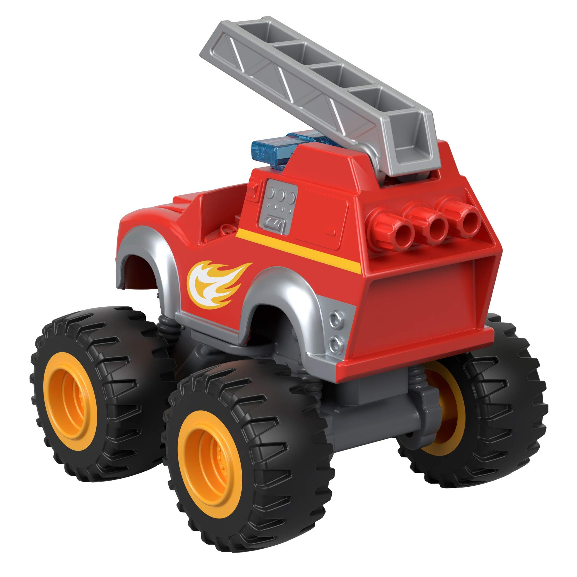 Fisher-Price Nickelodeon Blaze & The Monster Machines, Fire Rescue Blaze Toy, Red
