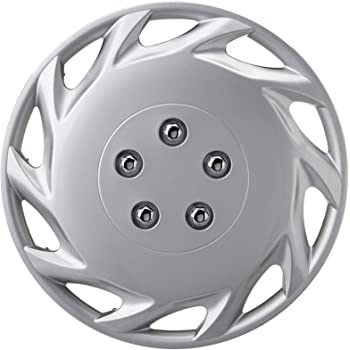 "Hub Caps Covers to fit Fiat Bravo,Croma Silver//Black 16/"" wheel trims"