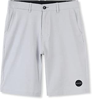 HETHCODE Men's Casual Classic Fit Hybrid Submersible Chino Walk Shorts