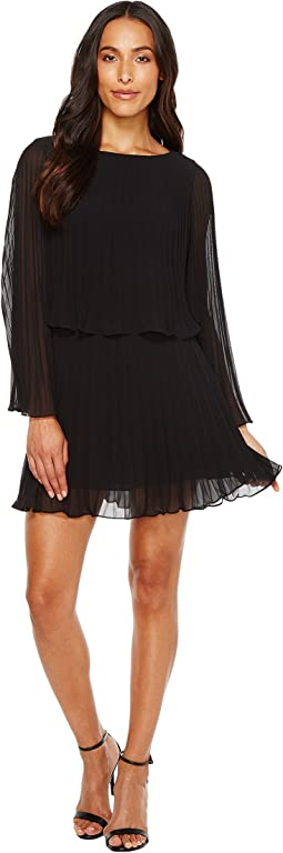 Black Chiffon Dress, Black | Shipped Free at Zappos