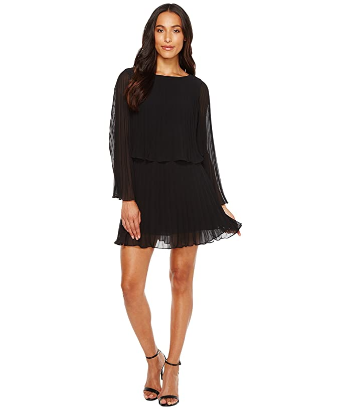 6d7780a03 Laundry by Shelli Segal Knife Pleat Chiffon Cocktail Dress at 6pm