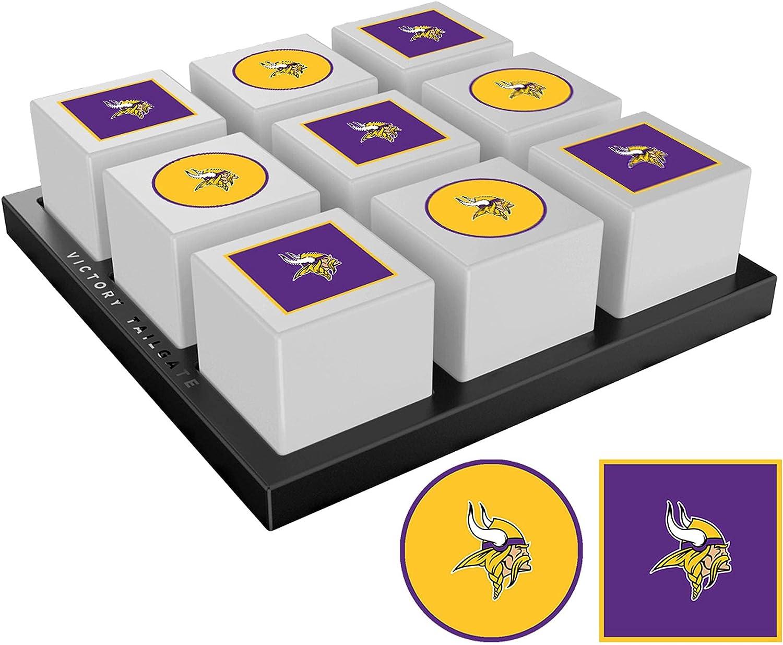 Victory Tailgate [Alternative dealer] New color Minnesota Tic-Tac-Toe Vikings Game