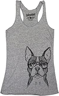 Scout The Boston Terrier Triblend T-Shirt