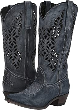 927158070319 Women s Blue Boots + FREE SHIPPING