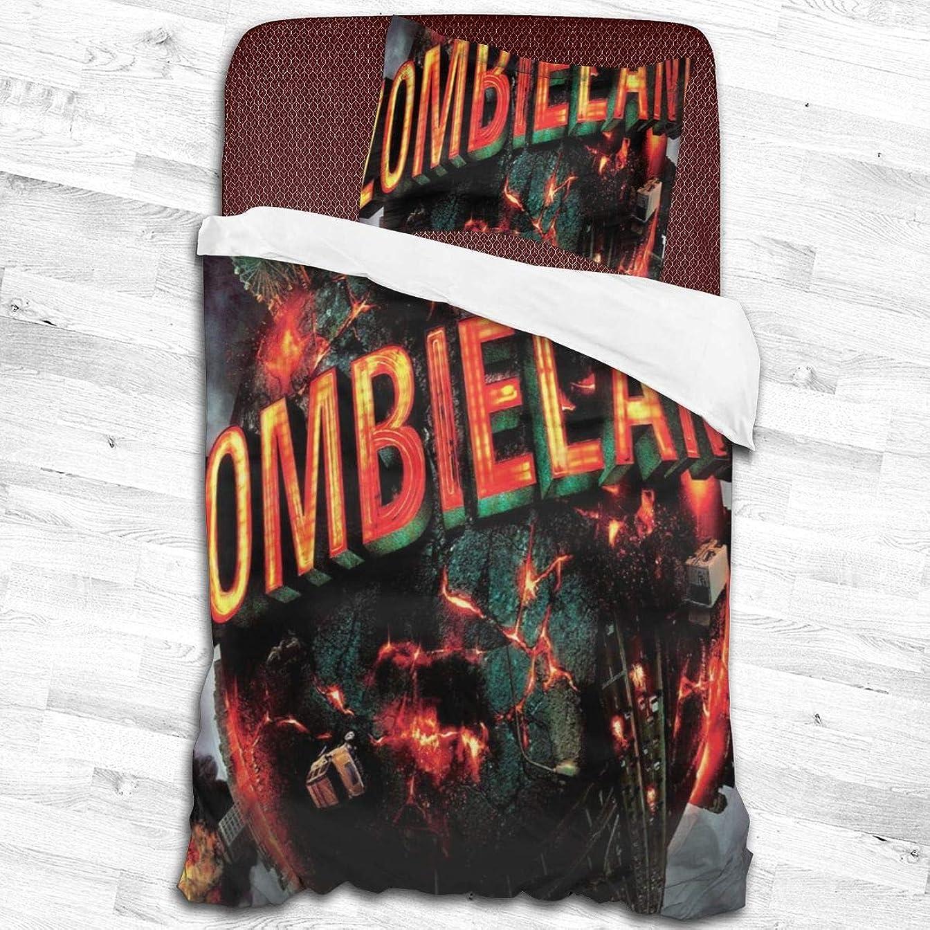 ぜいたくぺディカブ前述の寝具カバーセット、掛け布団カバー 枕カバー ゾンビZombieland 掛け布団カバー1つ+ 20