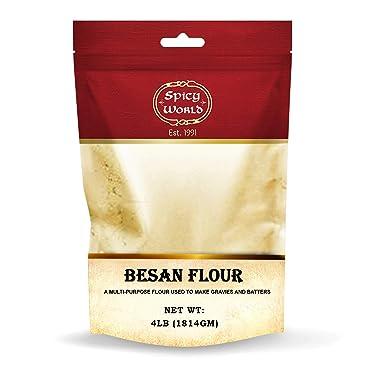 DEEP Spicy World Besan Chickpea Flour, 4 Pound, 64 Ounce