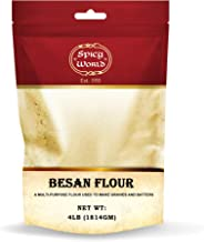 Spicy World Besan Chickpea Flour, 4 Pound