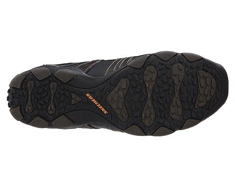 Skechers Vassell Para Hombre Zapatos De Cuero Ocasionales L7opHE
