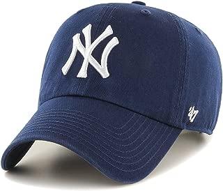 '47 Brand MLB NY Yankees Clean Up Cap - Light Navy