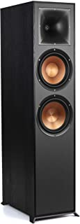 """Klipsch Reference R-820F Floorstanding Speaker for Home Theater Systems with 8"""" Dual Woofers, Tower Speakers with Bass-Ref..."""