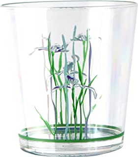 Corelle Coordinates by Reston Lloyd Shadow Iris Acrylic Rock Glasses, 14-Ounce, Set of 6