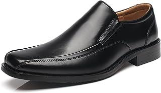 أحذية رسمية من الجلد للرجال من NXT NEW YORK أحذية سهلة الارتداء بمقدمة مسطحة أحذية رجالية رسمية كلاسيكية مريحة للعمل