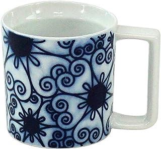 光春窯 花紋「和紋」IMマグ 01205148