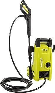Sun Joe SPX1000 1450 PSI 1.45 GPM 11.5-Amp Electric Pressure Washer, Green (Renewed)