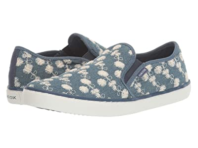 Geox Kids Kilwi 77 (Big Kid) (Medium Blue) Girl