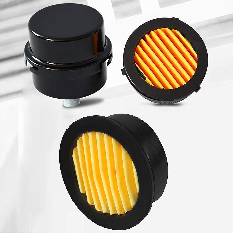 12mm Metal Silencer Intake Filter for Air Compressor 1//4 PT Air Compressor Inlet Muffler