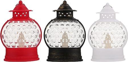 3 pcs decorativo lâmpadas conduzidas luzes eletrônicas iluminam ornamentos de luz de casa
