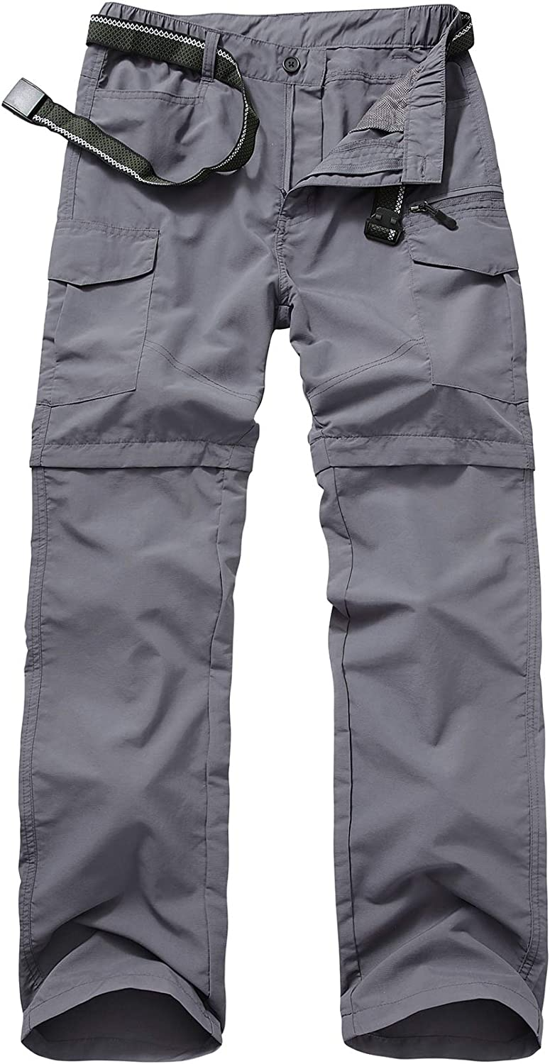 Mens Hiking Pants Max 52% OFF Max 85% OFF Quick Lightweight Fishing Dry Convertibl