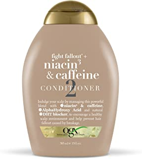 Organix Fight Fallout Plus Conditioner Niacin & Caffeine, 385 ml
