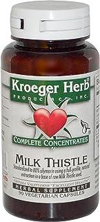 Kroeger Herb Co Complete Concentrates, Milk Thistle, 90 Vegetarian Capsule