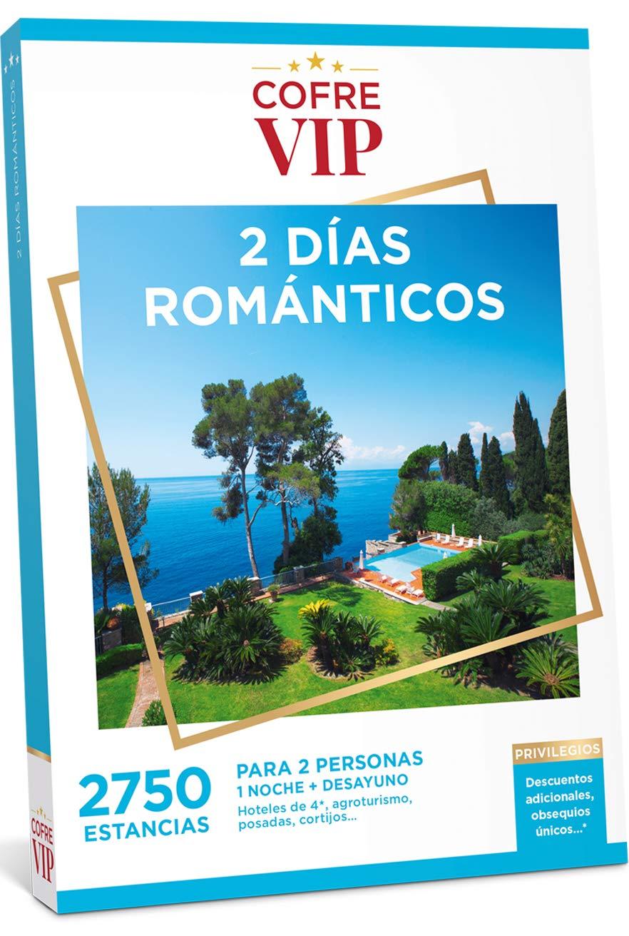 CofreVIP Caja Regalo 2 DÍAS ROMÁNTICOS 2.750 estancias a Elegir en España y Europa para Dos Personas.: Amazon.es: Jardín