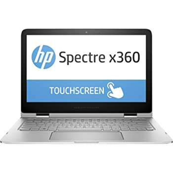 "HP - Spectre x360 2-in-1 13.3"" Touch-Screen Laptop - Intel Core i7 - 8GB Memory - 256GB Solid State Drive - Natural Silver/Black"