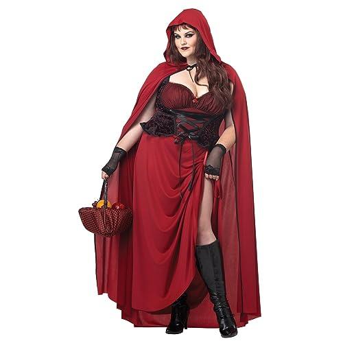 cea3944bcb5 California Costumes Women s Plus-Size Dark Red Riding Hood Plus