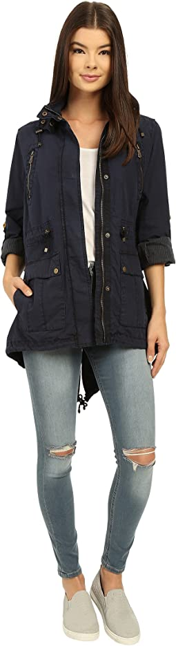 Levi's® - Fashion Light Weight Parka w/ Roll Up Sleeve