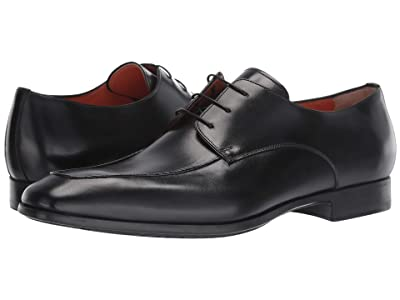 Santoni Falcon Dodge Lace-Up (Black) Men