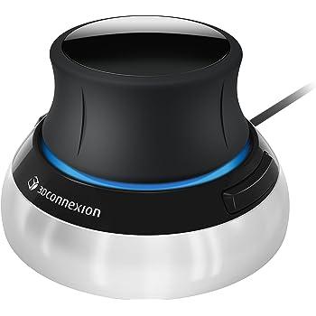 3Dconnexion - SpaceMouse Compact, navigazione 3D avanzata, per Microsoft Windows e macOS